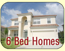 6 Bed Vacation Homes to Rent